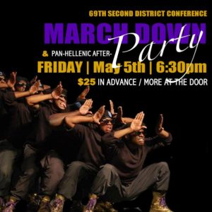 69th 2nd District Conference | March Down & Pan-Hellenic After Party @ Hilton Westchester Hotel | Rye Brook | New York | United States